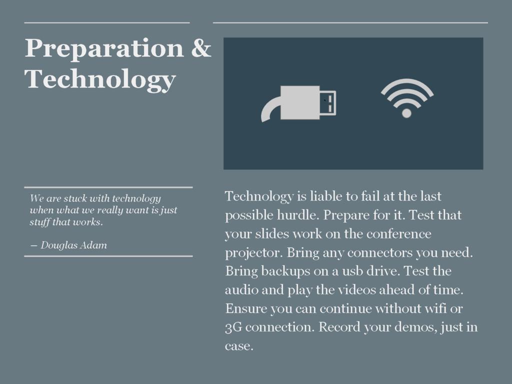 Preparation & Technology Technology is liable t...