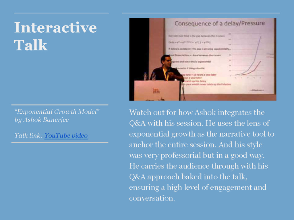 "Interactive Talk ""Exponential Growth Model"" by ..."
