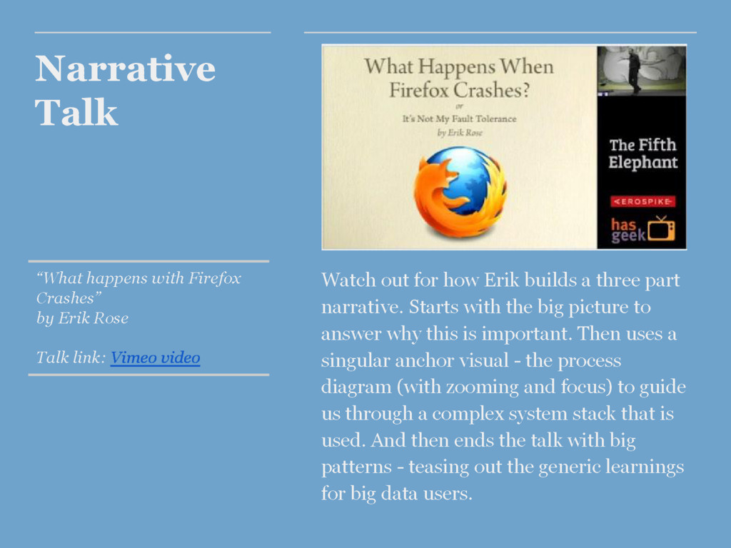 "Narrative Talk ""What happens with Firefox Crash..."