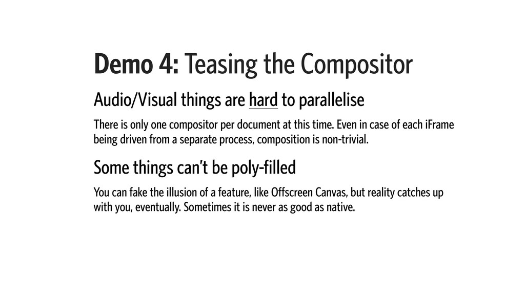 Demo 4: Teasing the Compositor Audio/Visual thi...