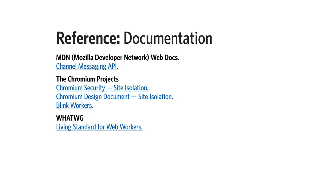 Reference: Documentation MDN (Mozilla Developer...
