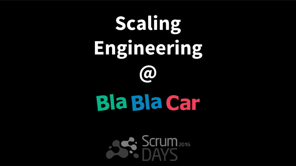 Scaling Engineering @
