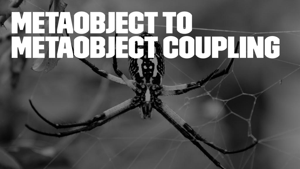 Metaobject to Metaobject Coupling