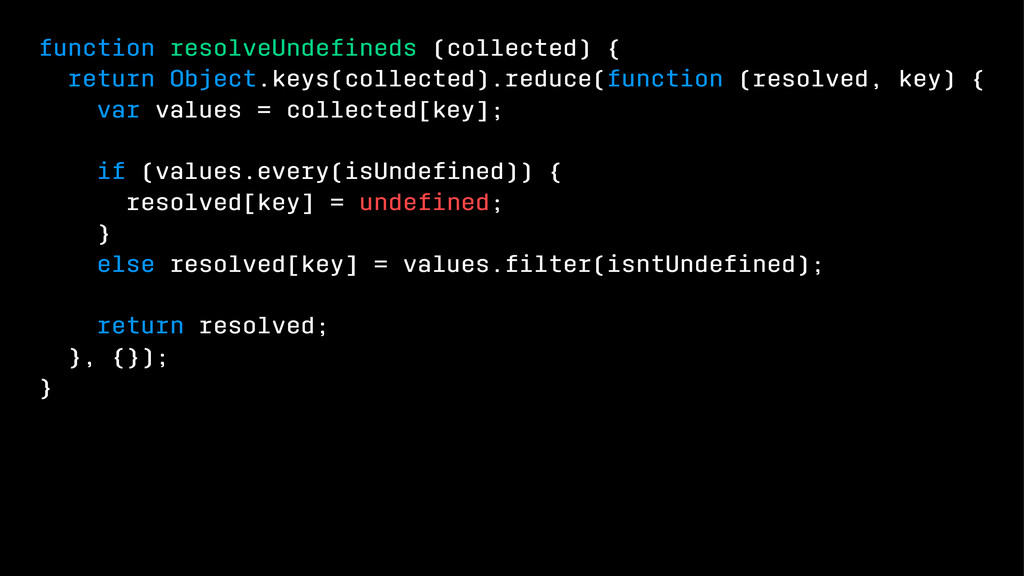 function resolveUndefineds (collected) { return ...