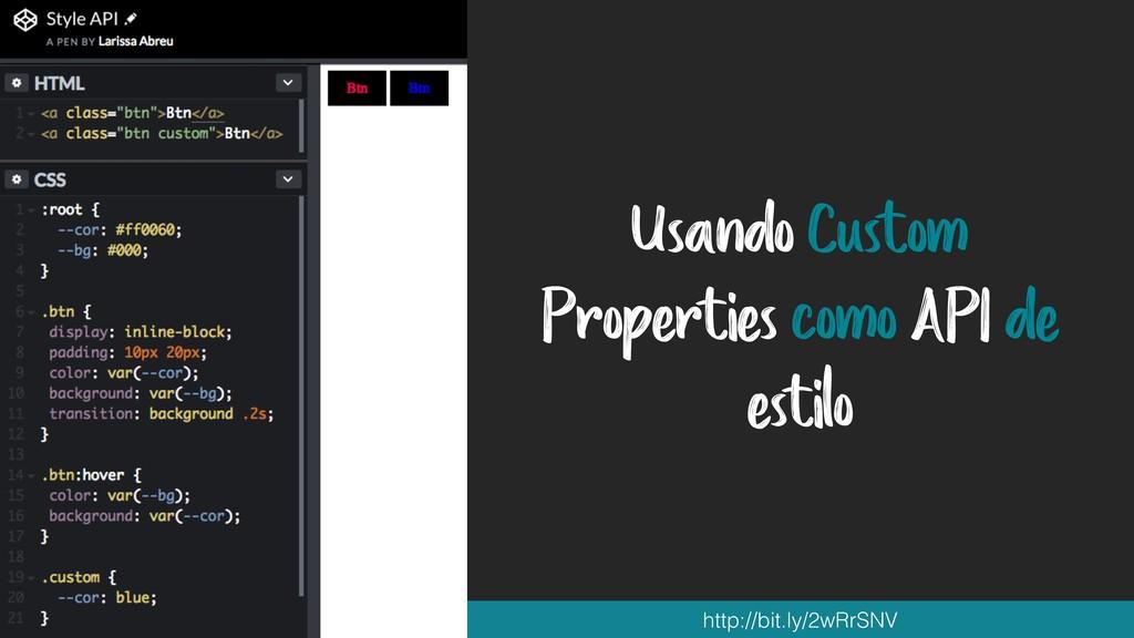 Usando Custom Properties como API de estilo htt...
