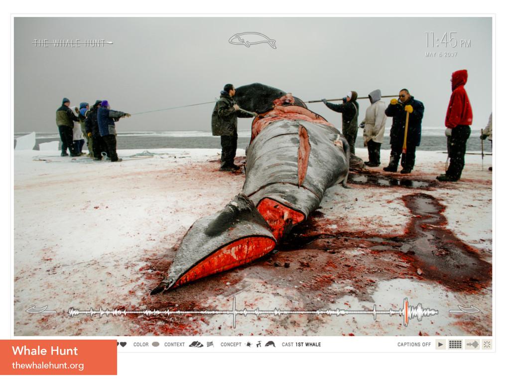 Whale Hunt thewhalehunt.org