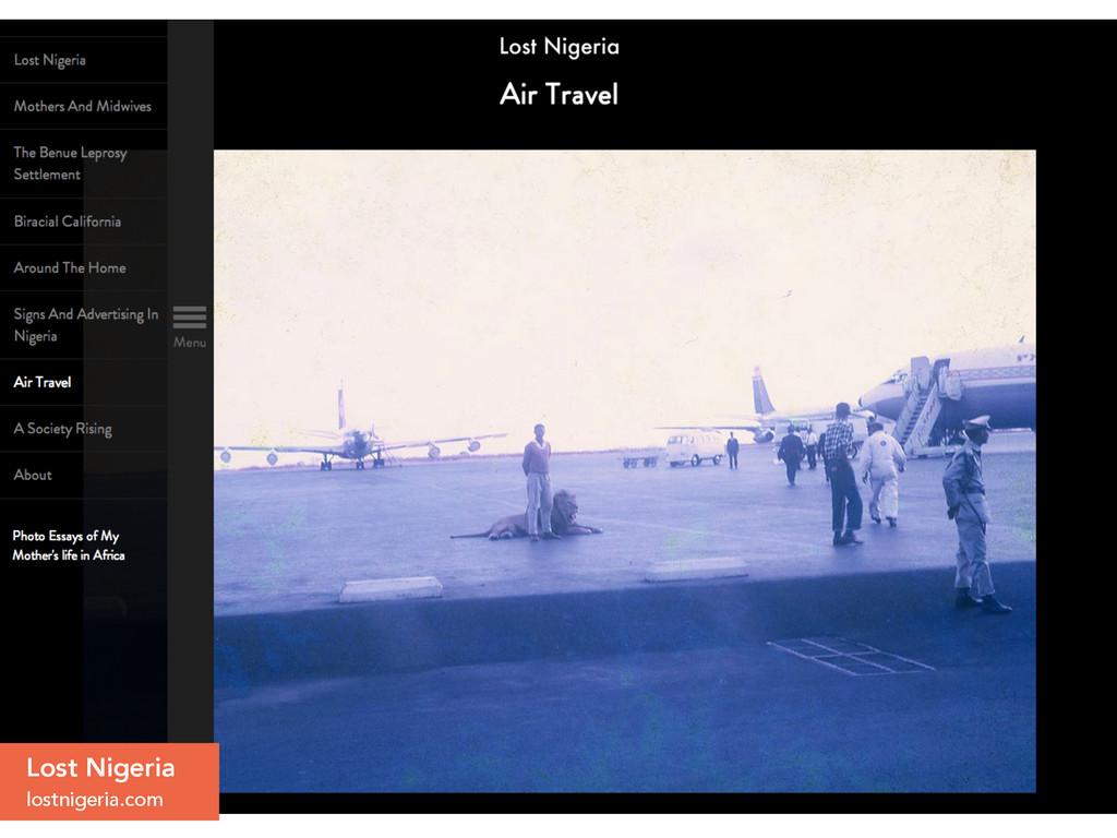 Lost Nigeria lostnigeria.com