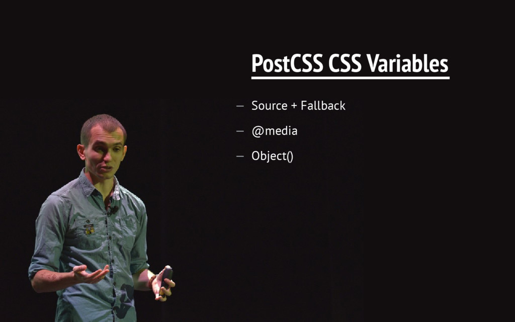 PostCSS CSS Variables — Source + Fallback — @me...