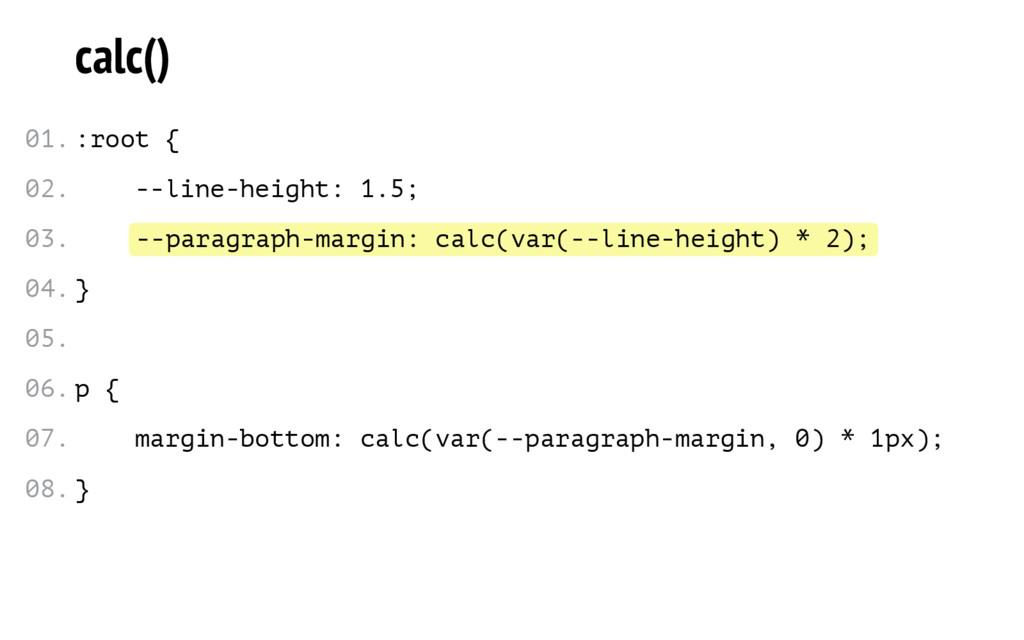 --paragraph-margin: calc(var(--line-height) * 2...