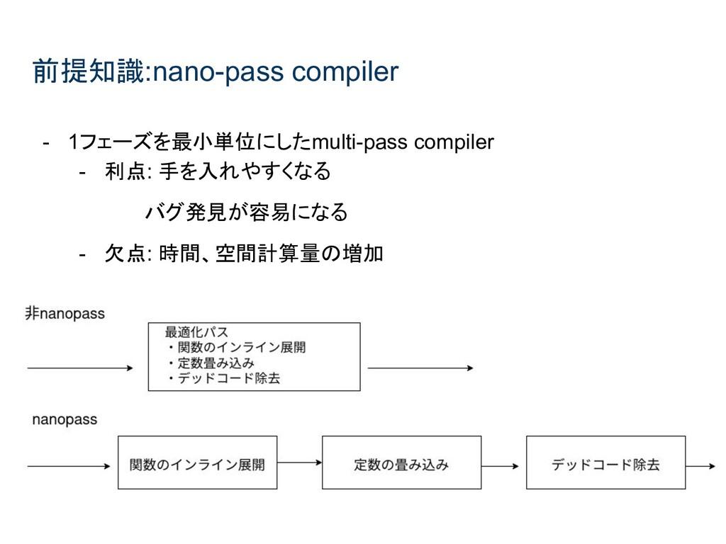 前提知識:nano-pass compiler - 1フェーズを最小単位にしたmulti-pa...