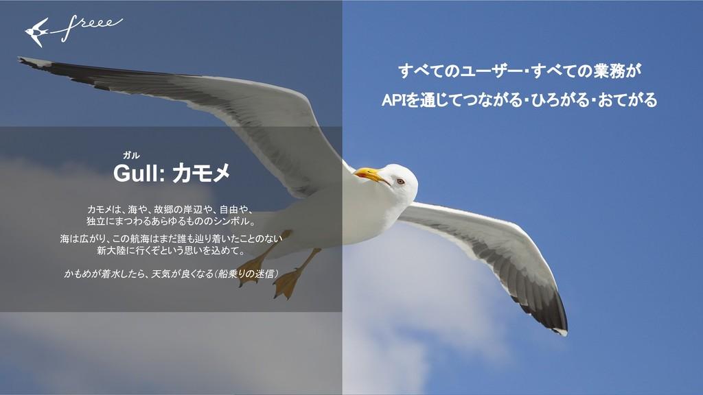 15 Gull: カモメ カモメは、海や、故郷の岸辺や、自由や、 独立にまつわるあらゆるものの...