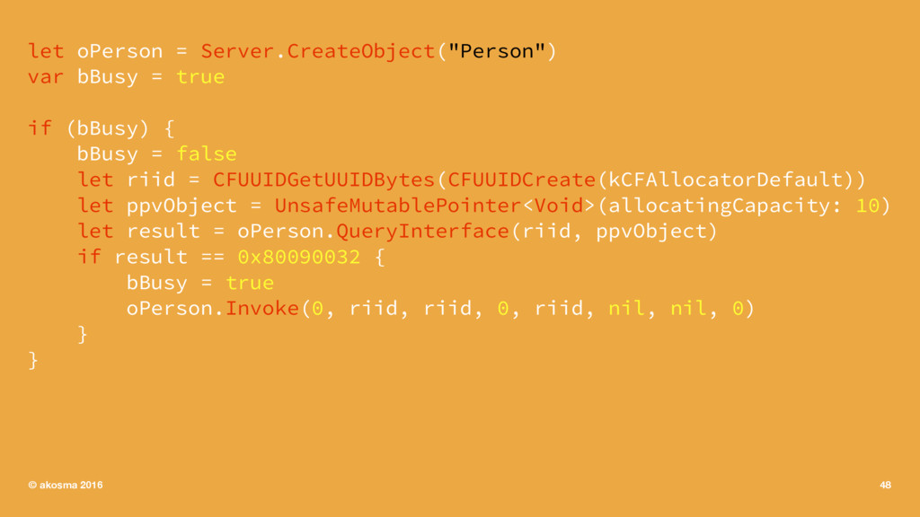 "let oPerson = Server.CreateObject(""Person"") var..."