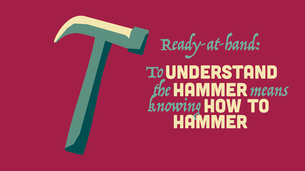 HAMMER To UNDERSTAND the means HOW To knowing H...