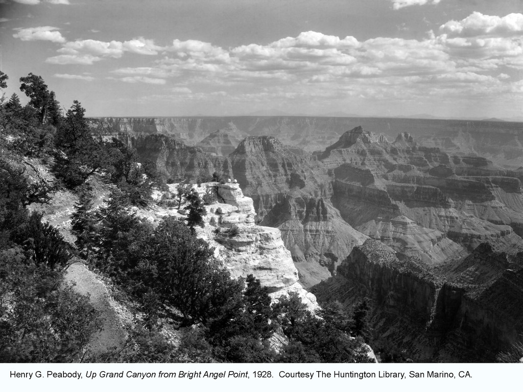 Henry G. Peabody, Up Grand Canyon from Bright A...