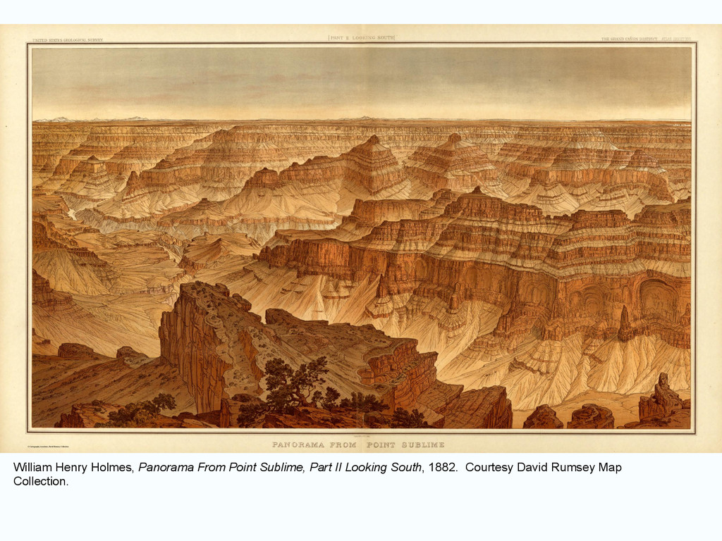 William Henry Holmes, Panorama From Point Subli...
