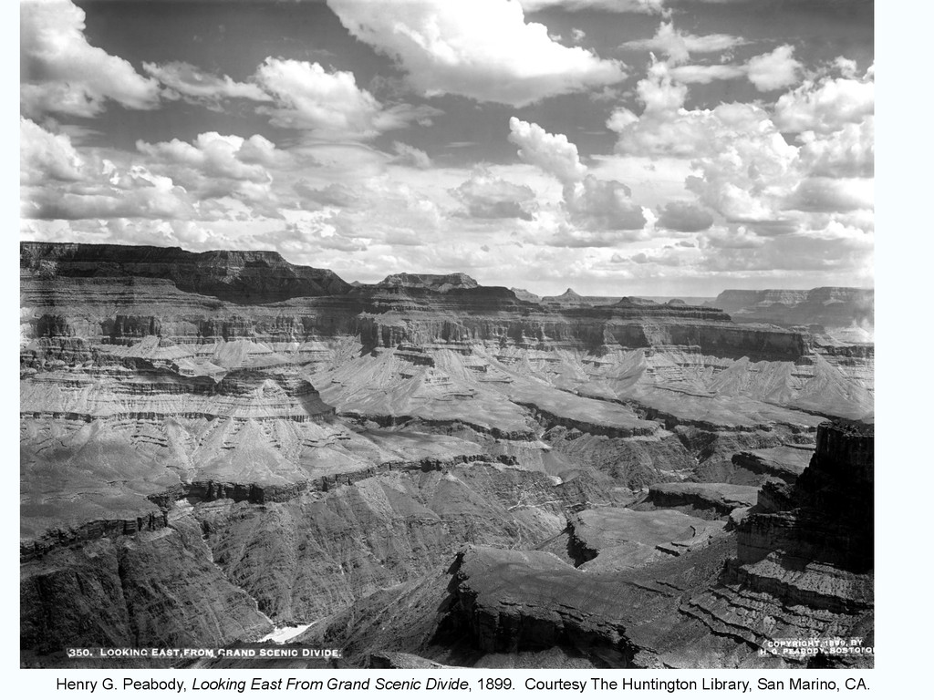 Henry G. Peabody, Looking East From Grand Sceni...