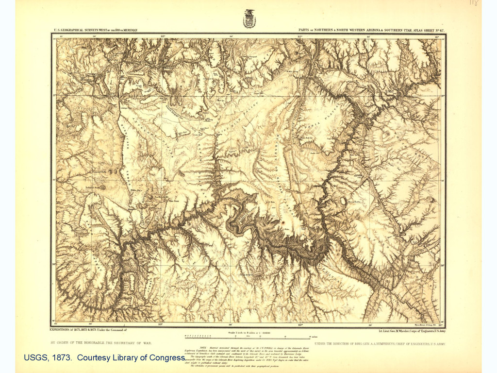 USGS, 1873. Courtesy Library of Congress.