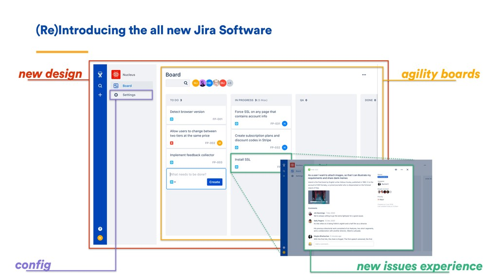 (Re)Introducing the all new Jira Software new d...