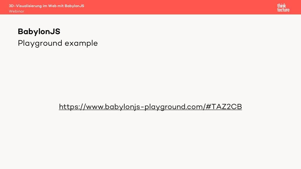 Playground example https://www.babylonjs-playgr...