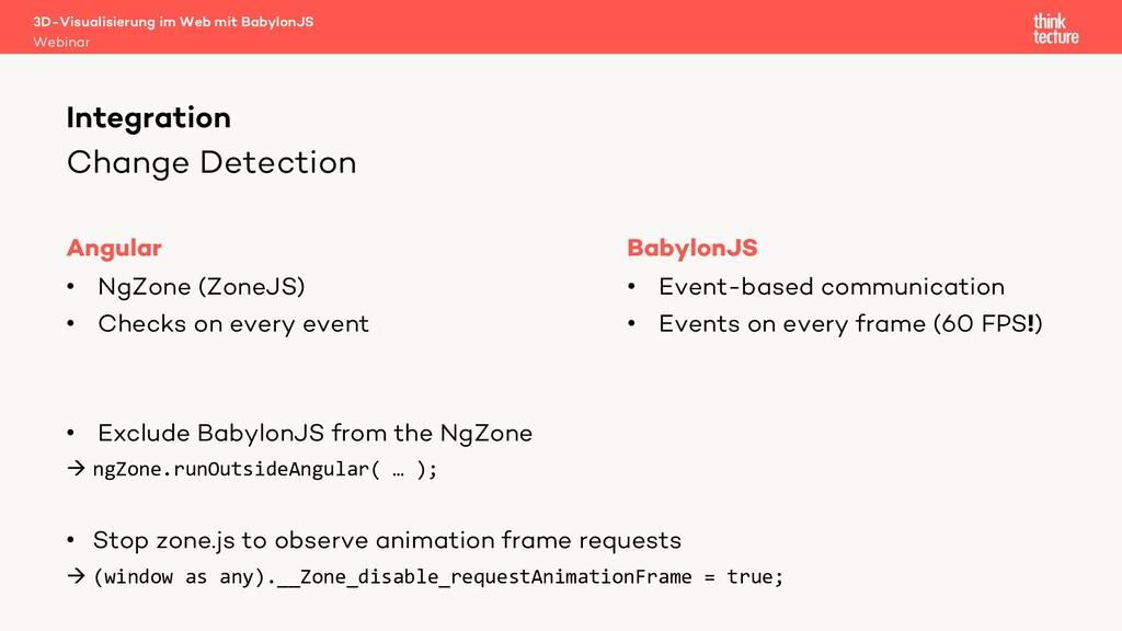 Change Detection Angular • NgZone (ZoneJS) • Ch...