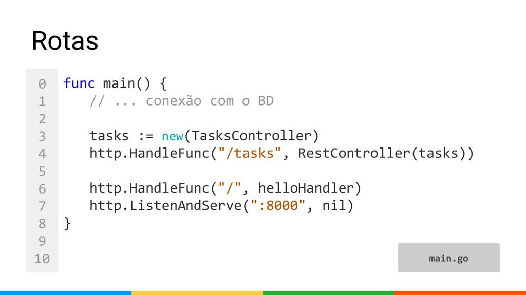 0 1 2 3 4 5 6 7 8 9 10 func main() { // ... con...