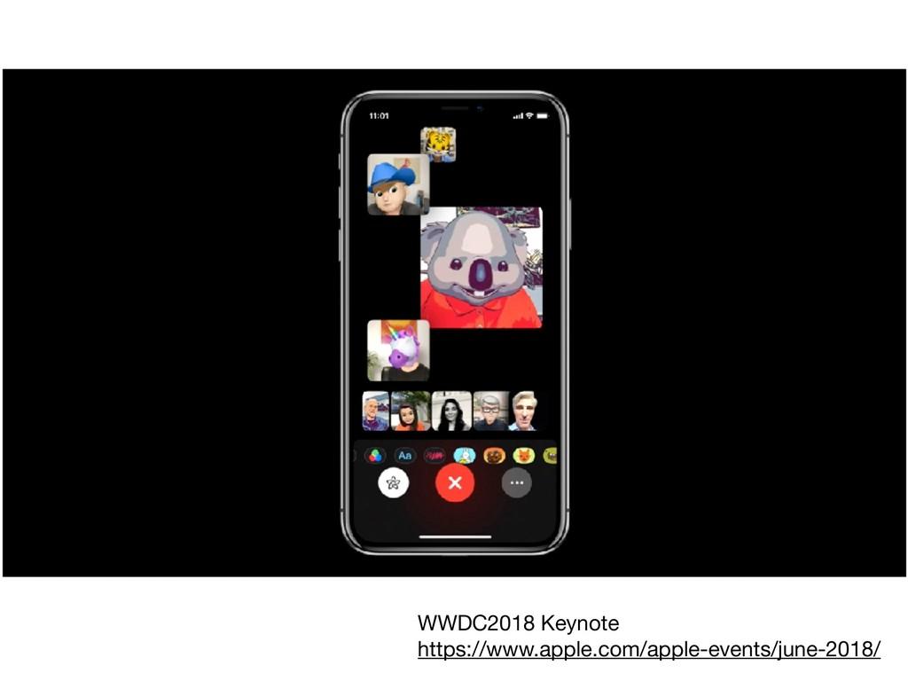WWDC2018 Keynote  https://www.apple.com/apple-e...