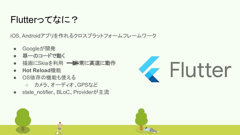#bitvalley2020 Flutterってなに? iOS, Androidアプリを作れる...