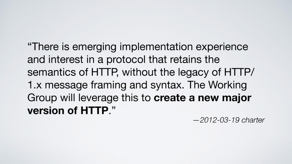 """There is emerging implementation experience an..."
