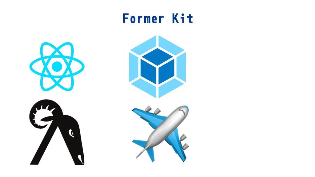 Former Kit ✈