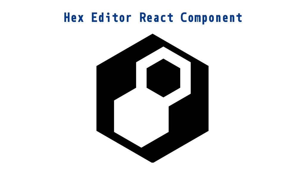 Hex Editor React Component