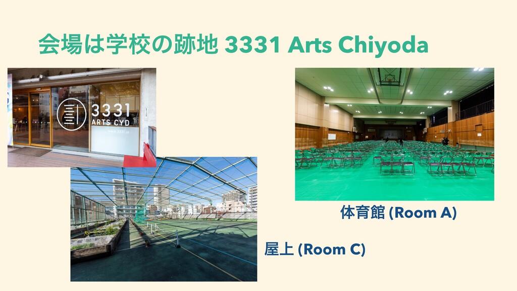 ձֶߍͷ 3331 Arts Chiyoda ମҭؗ (Room A) ্ (Roo...
