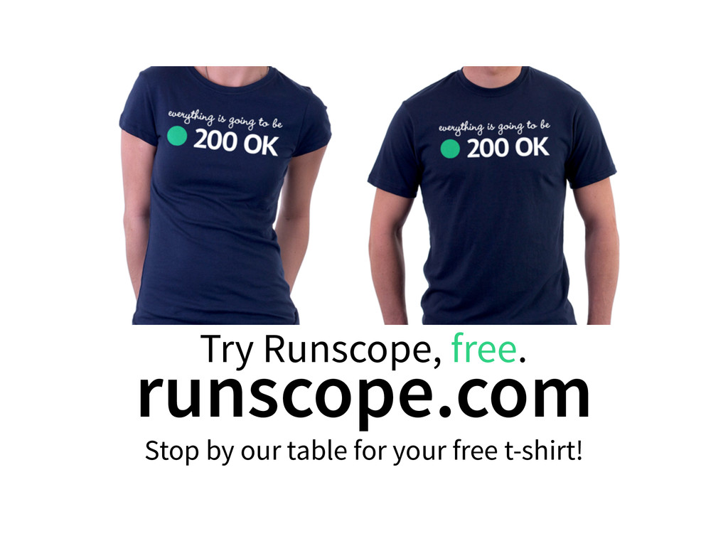 Try Runscope, free. runscope.com Stop by our ta...