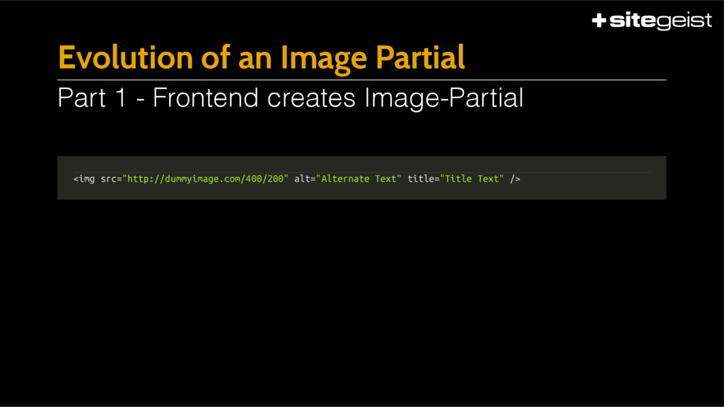 "Evolution of an Image Partial <img src=""http://..."