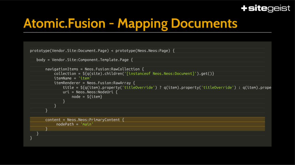 Atomic.Fusion - Mapping Documents prototype(Ven...