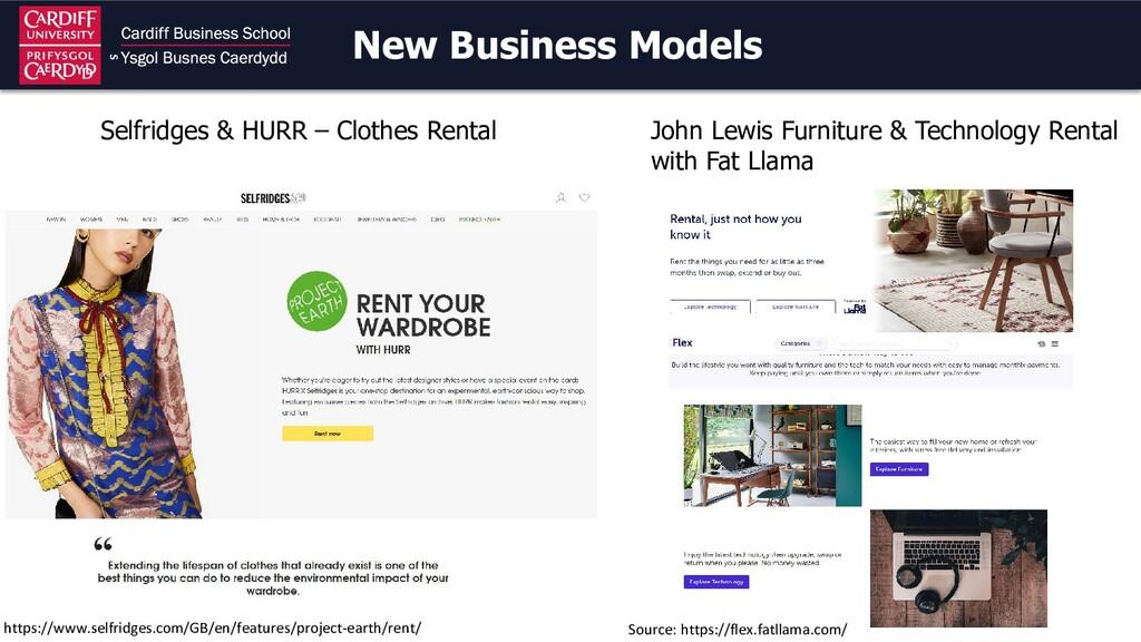 New Business Models John Lewis Furniture & Tech...