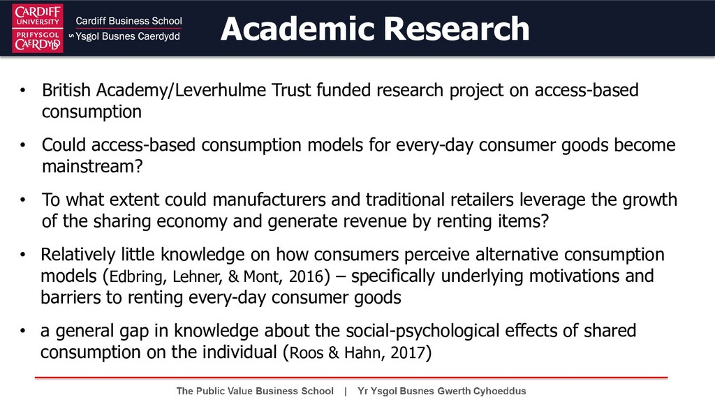 • British Academy/Leverhulme Trust funded resea...