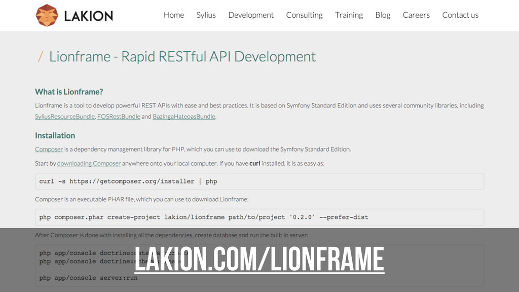 lakion.com/lionframe
