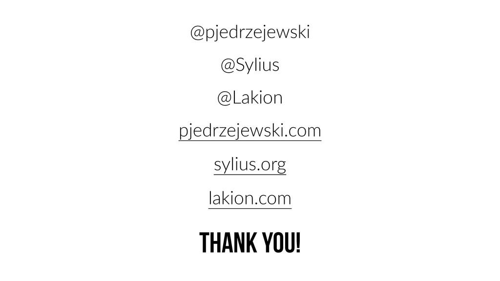 @pjedrzejewski @Sylius @Lakion pjedrzejewski.co...