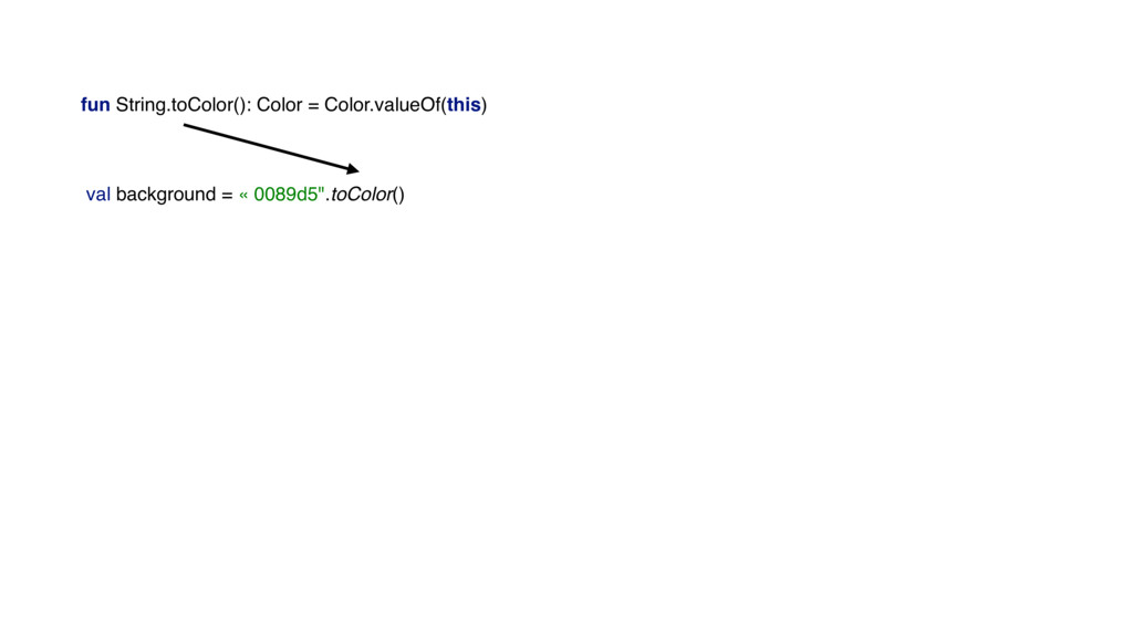 fun String.toColor(): Color = Color.valueOf(thi...