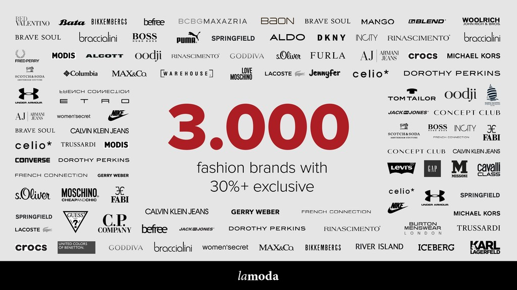 PRETTY, COMFORTABLE & SEXY 3.000 fashion brands...