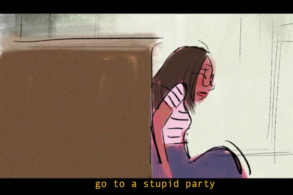 go to a stupid party