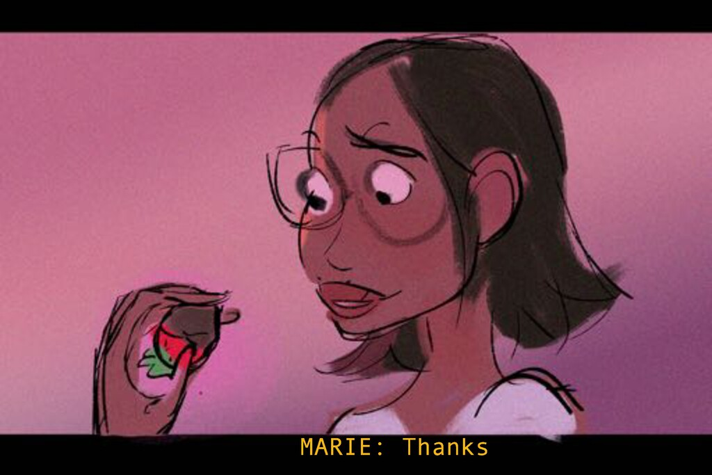 MARIE: Thanks