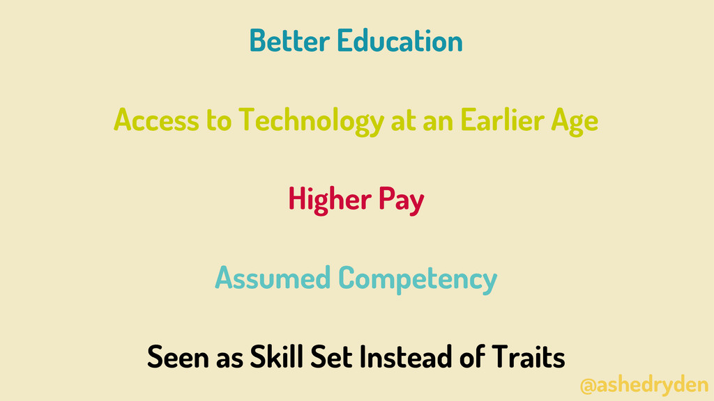 @ashedryden Better Education Access to Technolo...