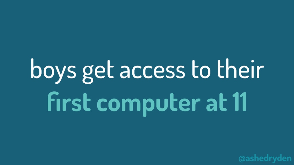 @ashedryden boys get access to their first compu...