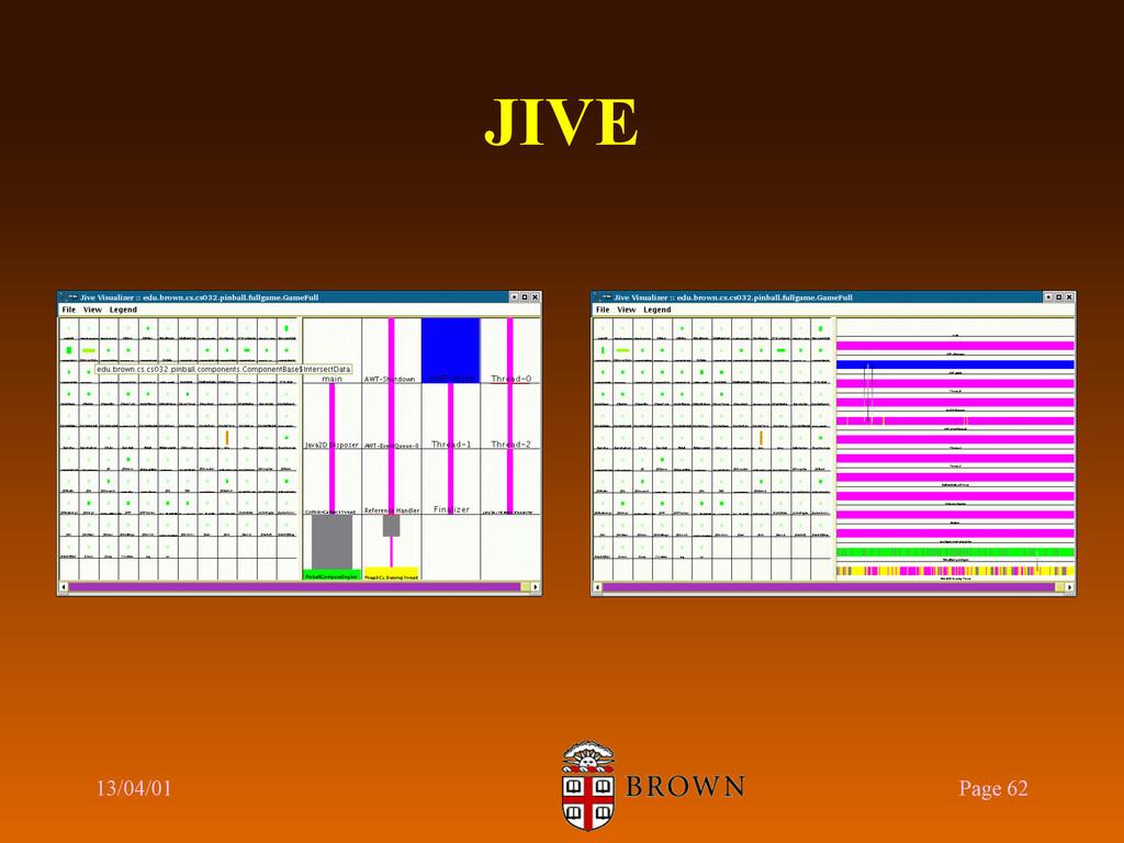 JIVE 13/04/01 Page 62