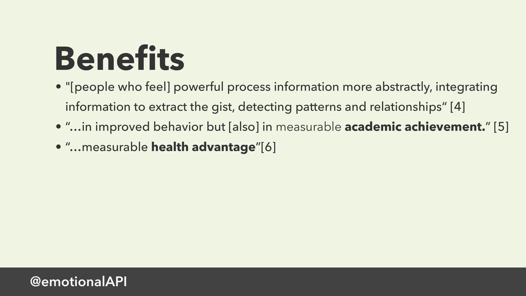 """@emotionalAPI Benefits • """"[people who feel] powe..."""