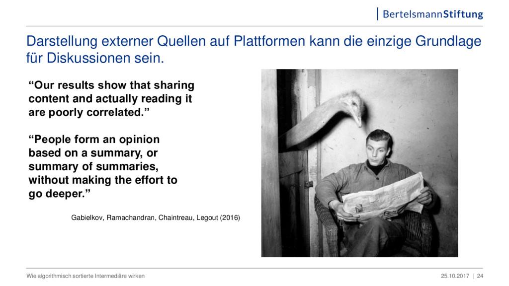 Darstellung externer Quellen auf Plattformen ka...