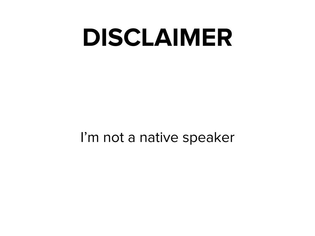 I'm not a native speaker DISCLAIMER