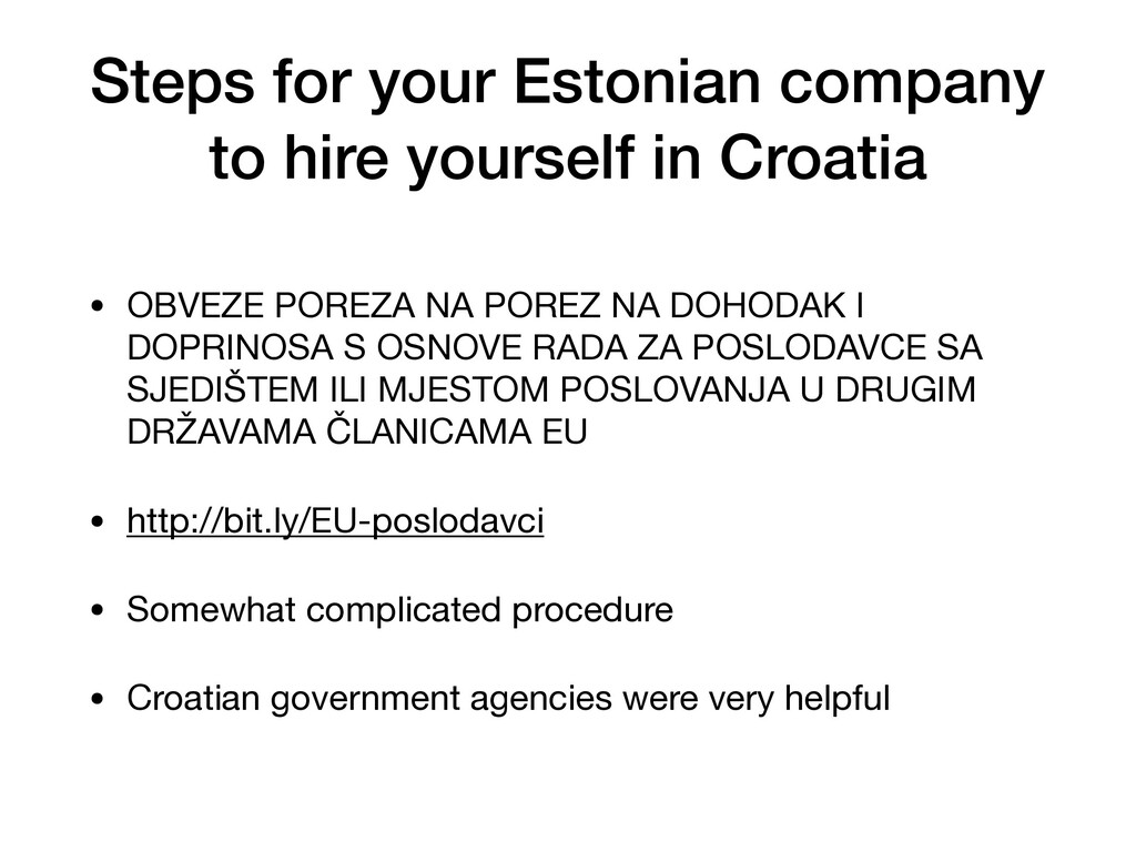 Steps for your Estonian company to hire yoursel...