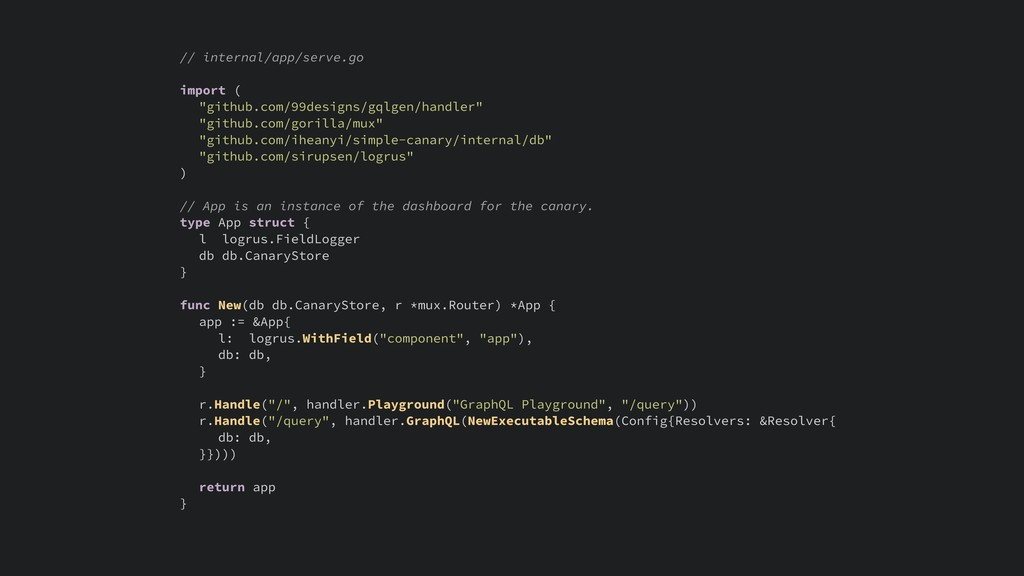 "// internal/app/serve.go import ( ""github.com/9..."